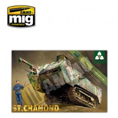 1/35 French Heavy Tank St.Chamond Late Type