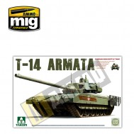 1/35 Russian Manin Main Battle Tank T-14 Armata