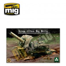 1/35 German Empire 420mm Big Bertha Siege Howitzer