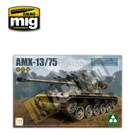 1/35 French Light Tank AMX-13/75 with SS-11 ATGM 2 in 1