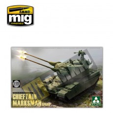 1/35 British Air-defense Weapon System Chieftain Marksman SPAAG