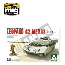 1/35 Leopard C2 MEXAS canadiense, Versión prototipo