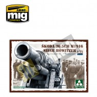 1/35 Obús de asedio Skoda de 30.5cm  M1916