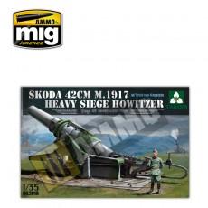 1/35 Skoda 42cm M1917 Heavy Siege Howitzer