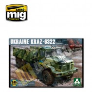 1/35 KRAZ-6322 Camión pesado ucraniano