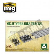 1/35 Mark IV Workable Tracks [Cement-free]