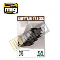 1/35 British Main Battle Tank Chieftain Tracks