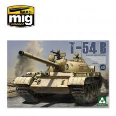1/35 Carro medio ruso T-54 B, modelo Tardío
