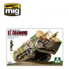 1/35 French Heavy Tank St.Chamond Early Type/Iron Mask Man