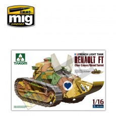 1/16 French Light Tank Renault FT char canon/Girod turret