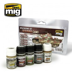 GERMAN CAMOUFLAGE  WEATHERING SET