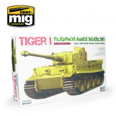 1/35 Tiger I Initial Production Early 1943 North African Front / Tunisia