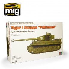 1/35 Tiger I Gruppe Fehrmann April 1945 Northern Germany