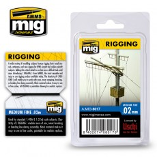 RIGGING – MEDIUM FINE 0.02 MM