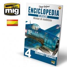 ENCICLOPEDIA DE TECNICAS DE MODELISMO DE AVIACION . VOL.4: ENVEJECIDO (Castellano)