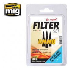 FILTER SET FOR WINTER AND UN VEHICLES