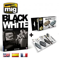PACK LIBRO BLANCO & NEGRO + SET B&N