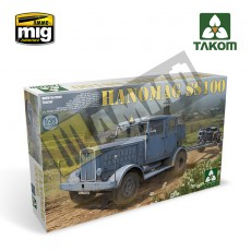1/35 WWII German Tractor Hanomag SS100