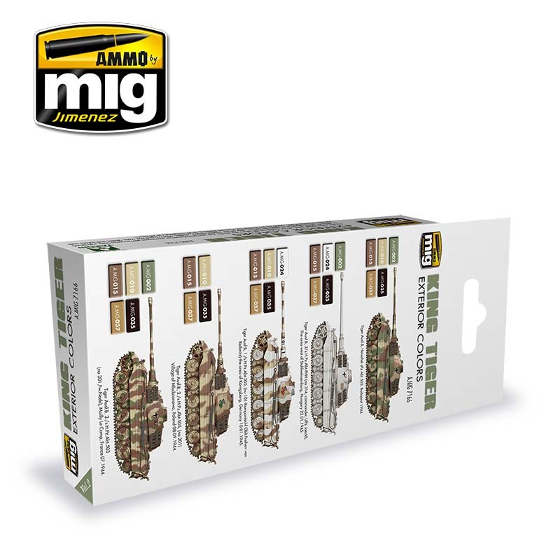king tiger exterior color special takom edition vol2 ammo by mig jimenez - Tiger Pictures To Color 2