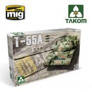 1/35 Russian Medium Tank T-55 A [3 in 1]