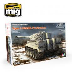 Tiger I Producción Intermedia Interior Completo