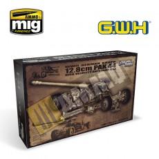 WWIIGermanKrupp12.8cmPak44Anti-TankGun