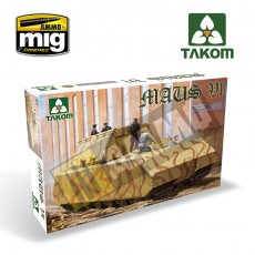 1/35 WWII GERMAN SUPER HEAVY TANK MAUS V1