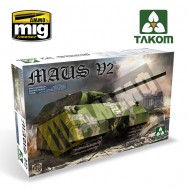 1/35 WWII GERMAN SUPER HEAVY TANK MAUS V2