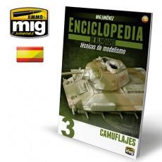 ENCICLOPEDIA DE TÉCNICAS DE MODELISMO DE BLINDADOS VOL. 3 - CAMUFLAJES (Castellano)