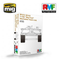 "1/35 M1A1/ M1A2 T-158 ""Big Foot"" Workable Track Link"