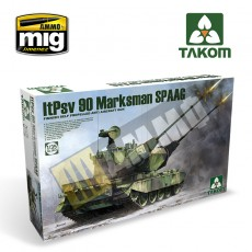 Finnish Self Propelled Anti Aircraft Gun ItPsv 90 Marksman SPAAG