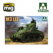 1/35 TANQUE MEDIO USA M3 LEE INICIAL