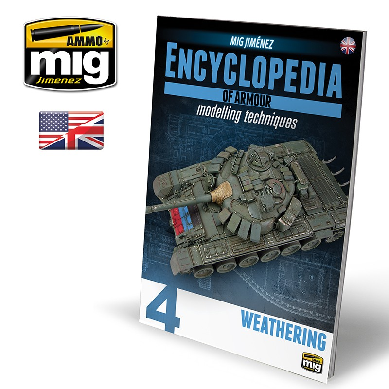 News AMMO (Mig Jimenez) Encyclopedia-of-armour-modelling-techniques-vol-4-weathering-english