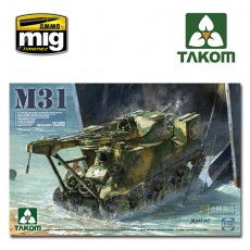 1/35 M31 US TANK RECOVERY VEHICLE