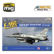 1/72 F-16D52+