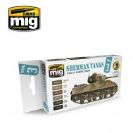 Set Sherman Tanks Vol. 3 (WWII US Marine Corps)
