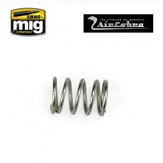 Trigger valve spring