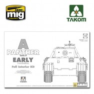 1/35  WWII German Tank  Sd.Kfz.171 Panther A early production w/ full interior kit