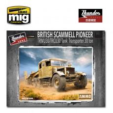 1/35 Scammell Pioneer Tank Transporter 30t