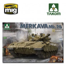 1/35 Israeli main battle tank Merkava mk.2b