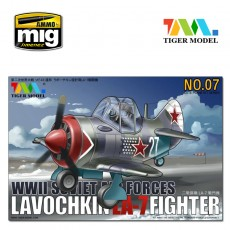 Cute  Lavochkin La-7 Fighter