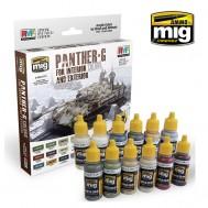 PANTHER-G Set de Colores para Interior y Exterior