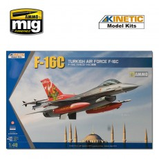 KIN48069	1/48 F-16C TURKEY 20YEARS ANN.