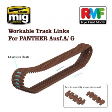1/35 Workable Tracks for Panther A & G