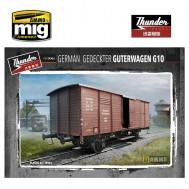 1/35 German Gedeckter Guterwagen G10