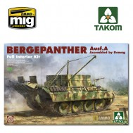 1/35 Bergepanther Ausf.A Assembled by Demag production w/ full interior kit