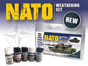 A.MIG-7446 SET DE ENVEJECIDO DE LA OTAN