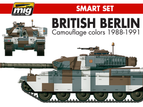 A.MIG-7150 BRITISH BERLIN CAMOUFLAGE COLORS