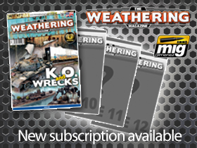 Subscription for Issue 9-through- Issue 12 The Weathering Magazine