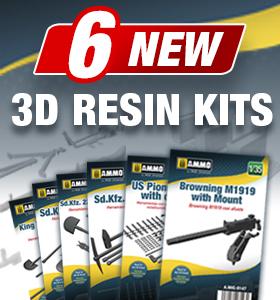 AMMO 3D Resin Kits